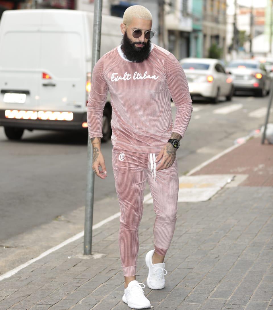 Conjunto Exalt Urban Rosa Version Prime  - Harpia Moda - Moda Masculina & Acessórios