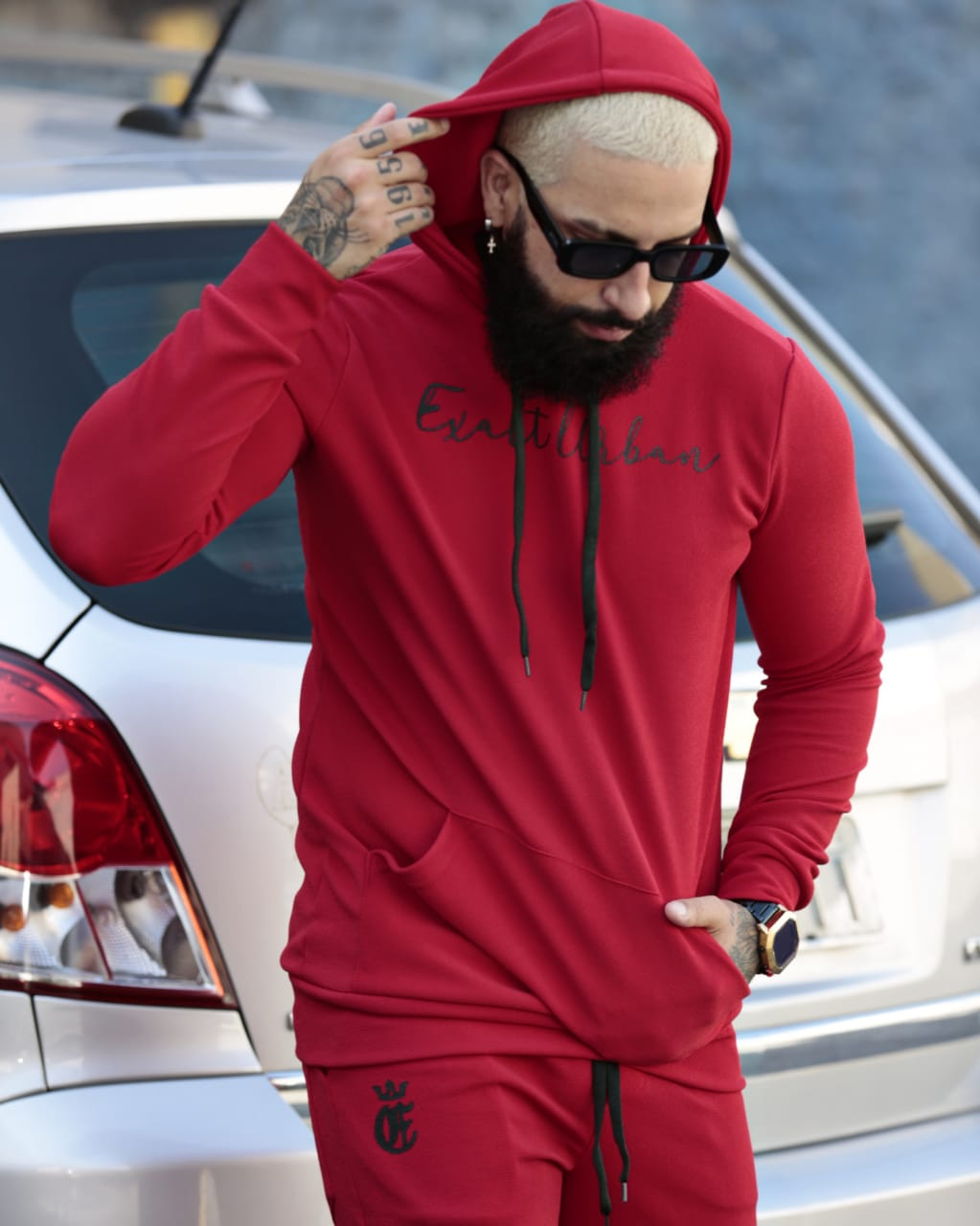 Conjunto Exalt Urban Vermelho Version Deluxe  - Harpia Moda - Moda Masculina & Acessórios