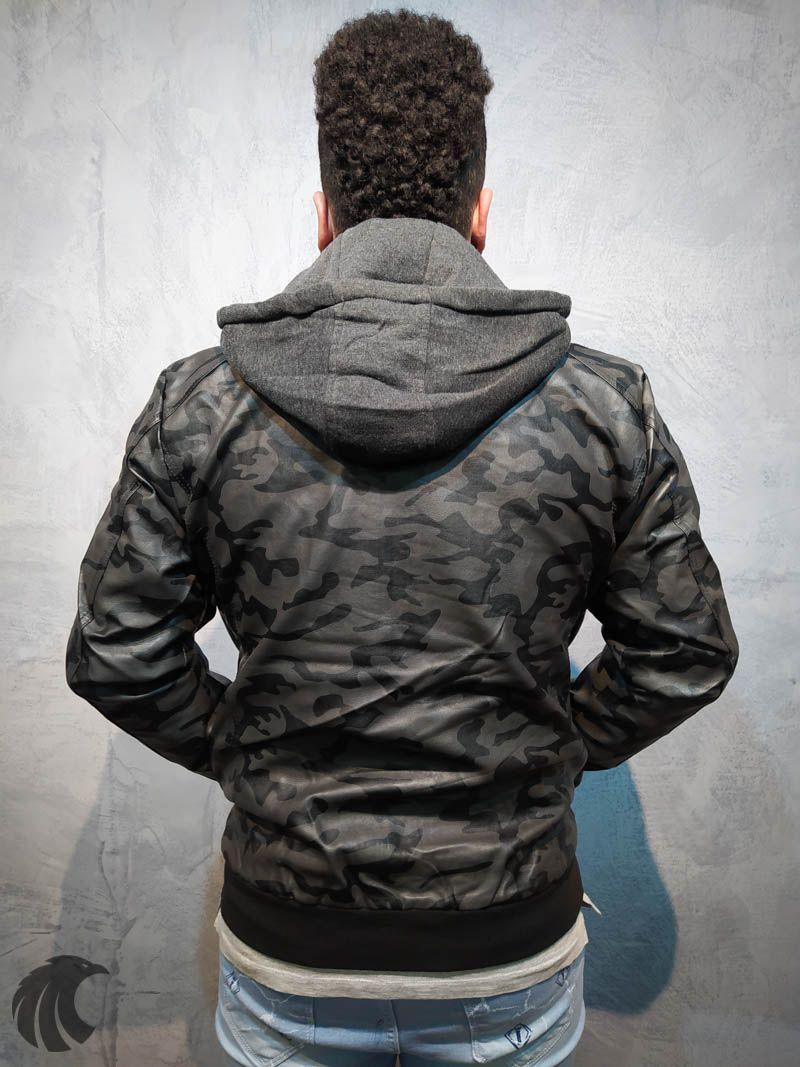 Jaqueta Rock Soda Camuflada Deluxe  - Harpia Moda - Moda Masculina & Acessórios