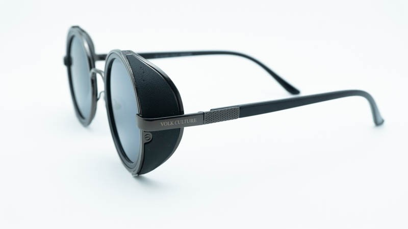 Óculos de Sol Masculino Redondo Volk Culture Preto  - Harpia Moda - Moda Masculina & Acessórios