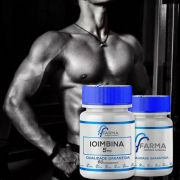 2 Potes Ioimbina 5mg - 60 Comprimidos