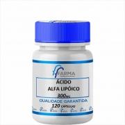 Ácido Alfa Lipóico 300 mg 120 Cápsulas