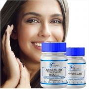 Ácido Fólico (Vitamina B9) 800mcg 120 Cápsulas