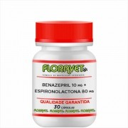 Benazepril 10 mg + Espironolactona 80 mg Pote 30 Cápsulas - Uso Veterinário
