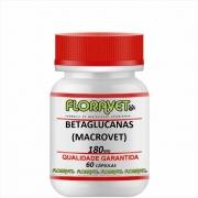 Betaglucanas (MACROVET) 180 mg Pote 60 Cápsulas - Uso Veterinário