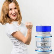 Glicina 500mg 60 Cápsulas