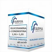 GLUCOSAMINA 1,5G + CONDROITINA 1,2G 60 SACHÊS
