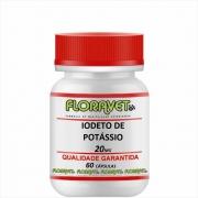 Iodeto de Potássio 20 mg Pote 60 Cápsulas - Uso Veterinário