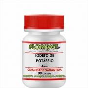 Iodeto de Potássio 25 mg Pote 60 Cápsulas - Uso Veterinário
