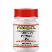 Iodeto de Potássio 50 mg Pote 60 Cápsulas - Uso Veterinário