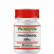 Itraconazol 100 mg Pote 90 Cápsulas - Uso Veterinário