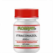 Itraconazol 200mg Pote 30 DOSES - Uso Veterinário