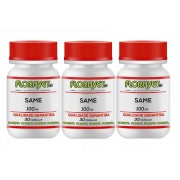 Kit SAMe (S-Adenosil-L-Metionina) 100mg Pote 3x30 Cápsulas - Uso Veterinário