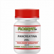 Pancreatina em Pó Pote Com 200 G - Uso Veterinário