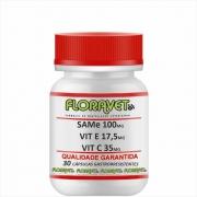 SAMe 100 mg + Vit. E 17,5 mg + Vit. C 35 mg Pote 30 Cápsulas Gastrorresistentes - Uso Veterinário