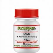 SAMe (S-Adenosil-L-Metionina) 400mg Pote 60 Cápsulas - Uso Veterinário