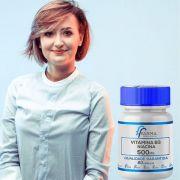 Vitamina B3 (niacina) 500mg 60 Cápsulas