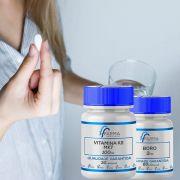 Vitamina k2 Mk-7 100Mcg 30 Cápsulas + Boro 3Mg 60 Cápsulas