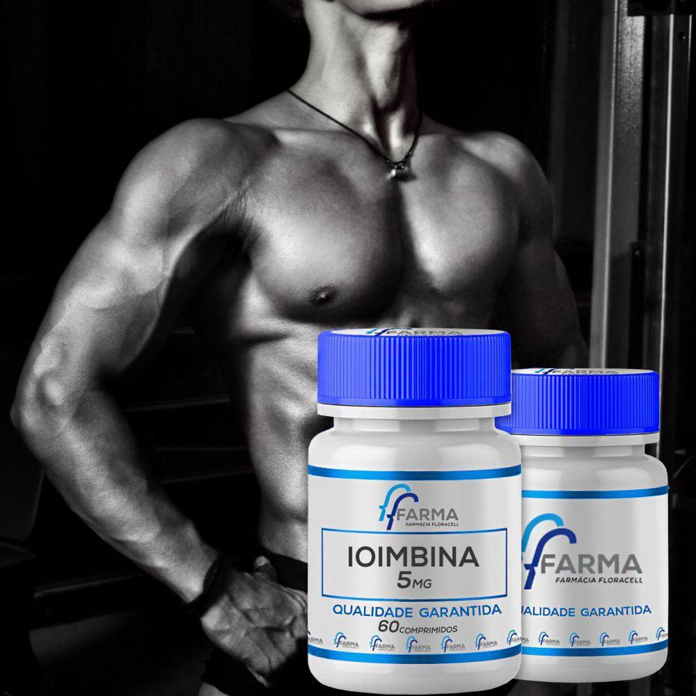 2 Potes Ioimbina 5mg 60 comprimidos