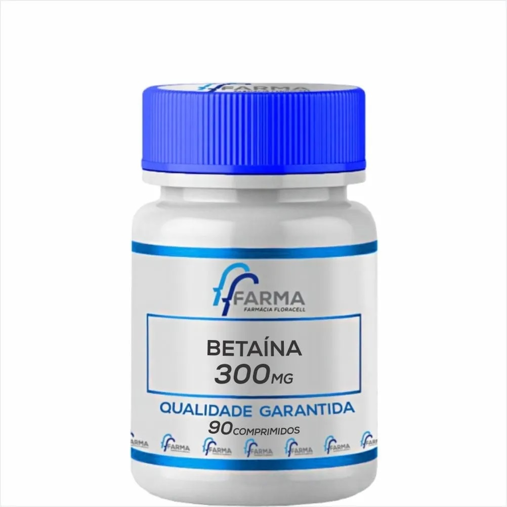 Betaína 300mg 90 Comprimidos