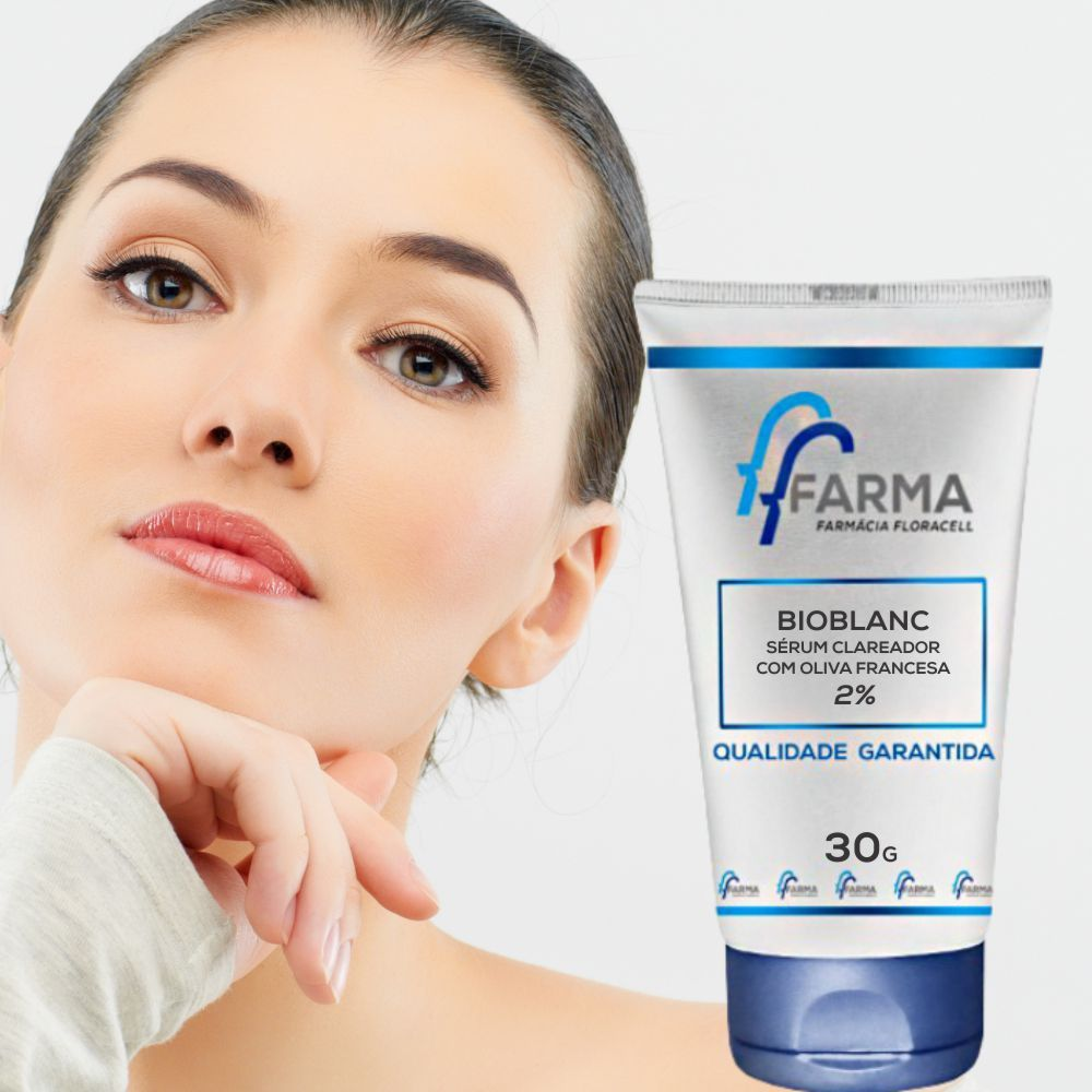 BioBlanc 2% Serum com Oliva Francesa para Clareamento Cutâneo - 30g