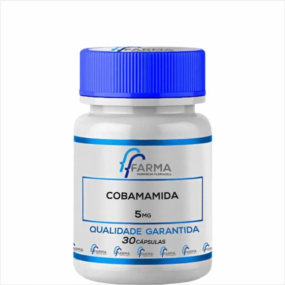 Cobamamida 5mg 30 Cápsulas