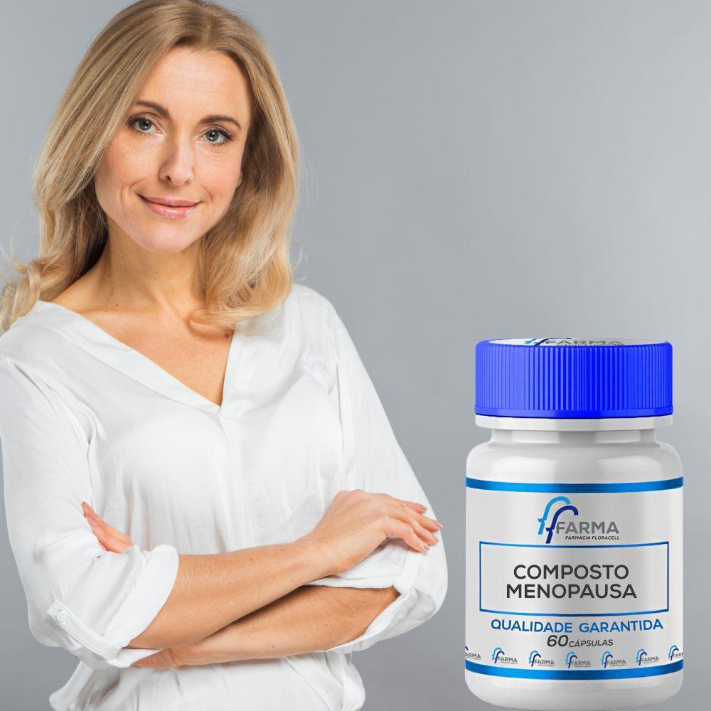 Composto Auxiliar No Controle Da Menopausa - 60 Cápsulas
