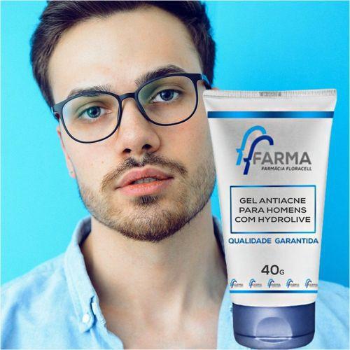 Gel Antiacne Para Homens Com Hydrolive 40g