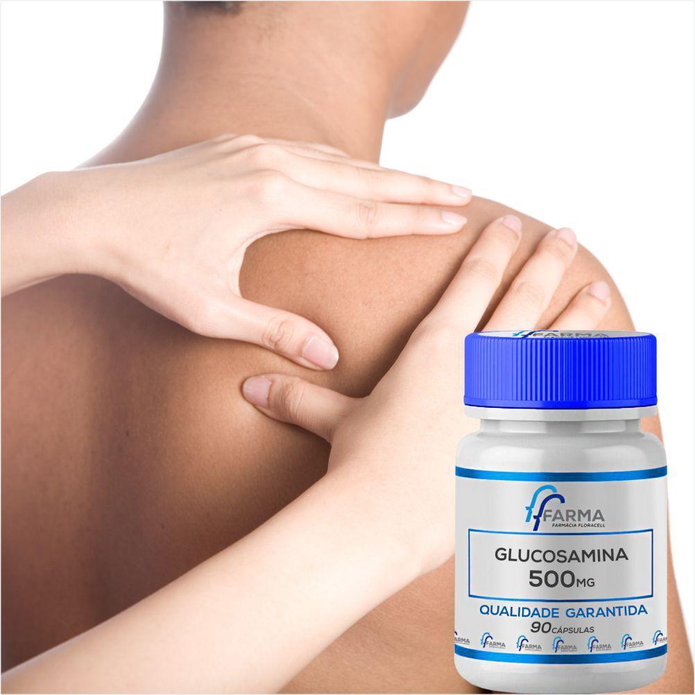 Glucosamina 500Mg 90 Cápsulas