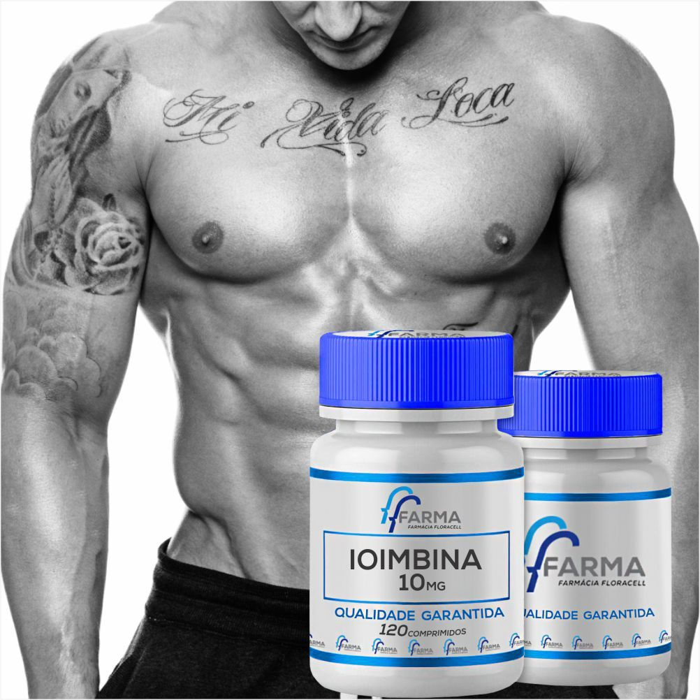 Ioimbina (yohimbine) 10mg 120 Comprimidos