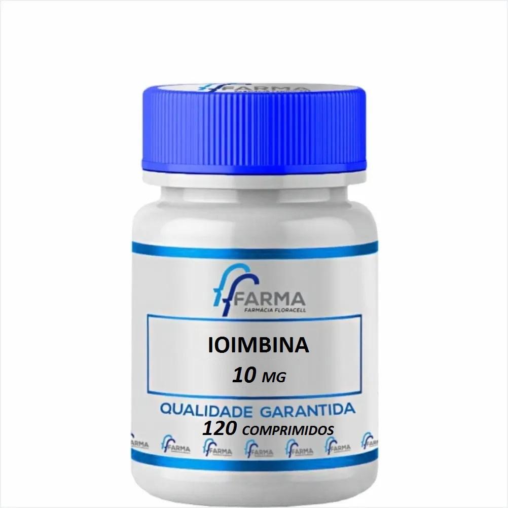 Ioimbina 10 Mg 120 Comprimidos