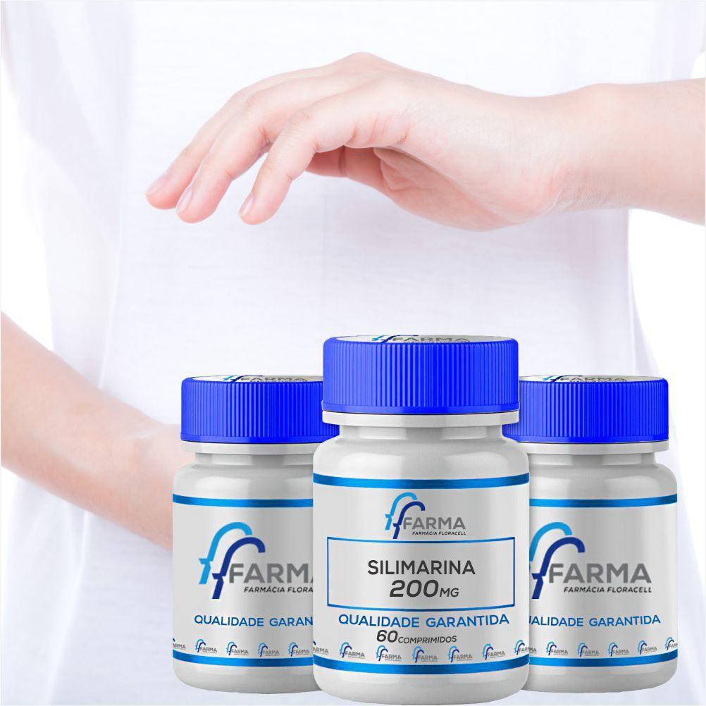 Kit 3 Silimarina  200 mg 60 Comprimidos