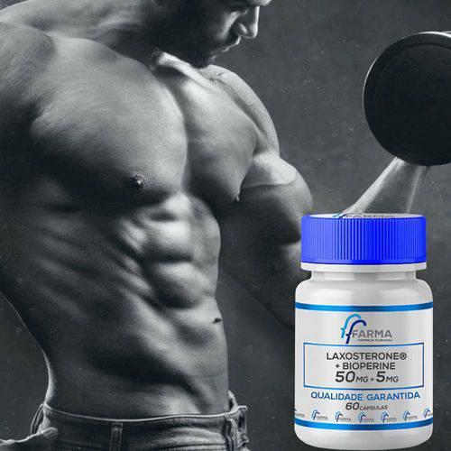 Laxosterone® 50mg + Bioperine 5mg 60 Cápsulas