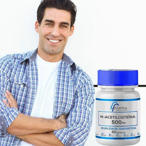 N Acetil Cisteina (NAC) 500mg 60 Cápsulas