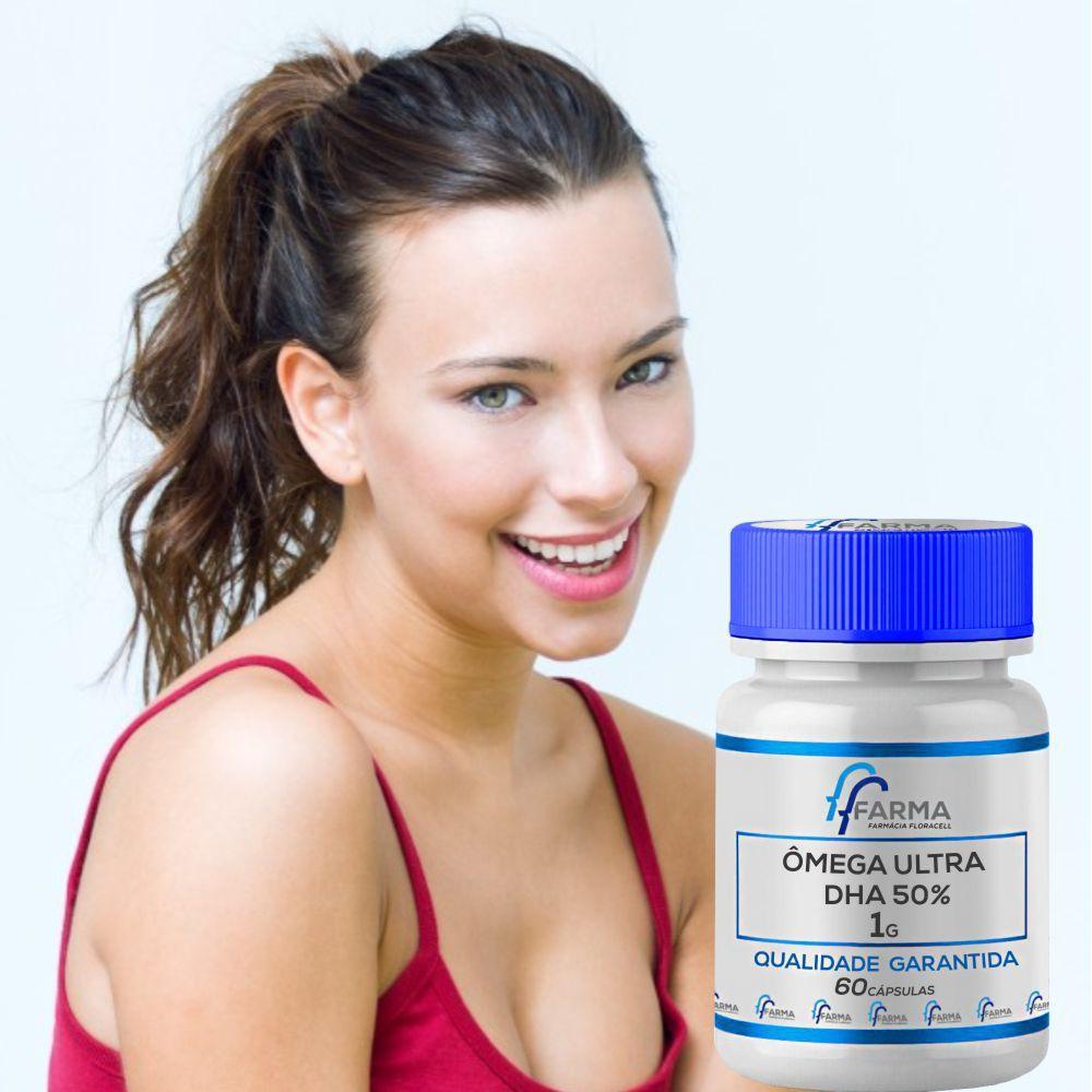 Omega 1g DHA 50% (ultra) - 60 Cápsulas