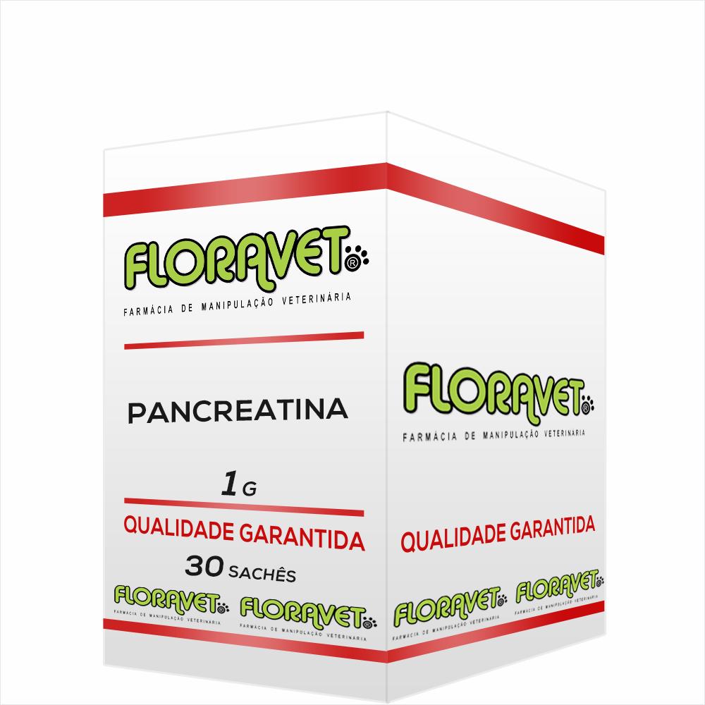 Pancreatina Sachê 1g 30 Unidades - Uso Veterinário