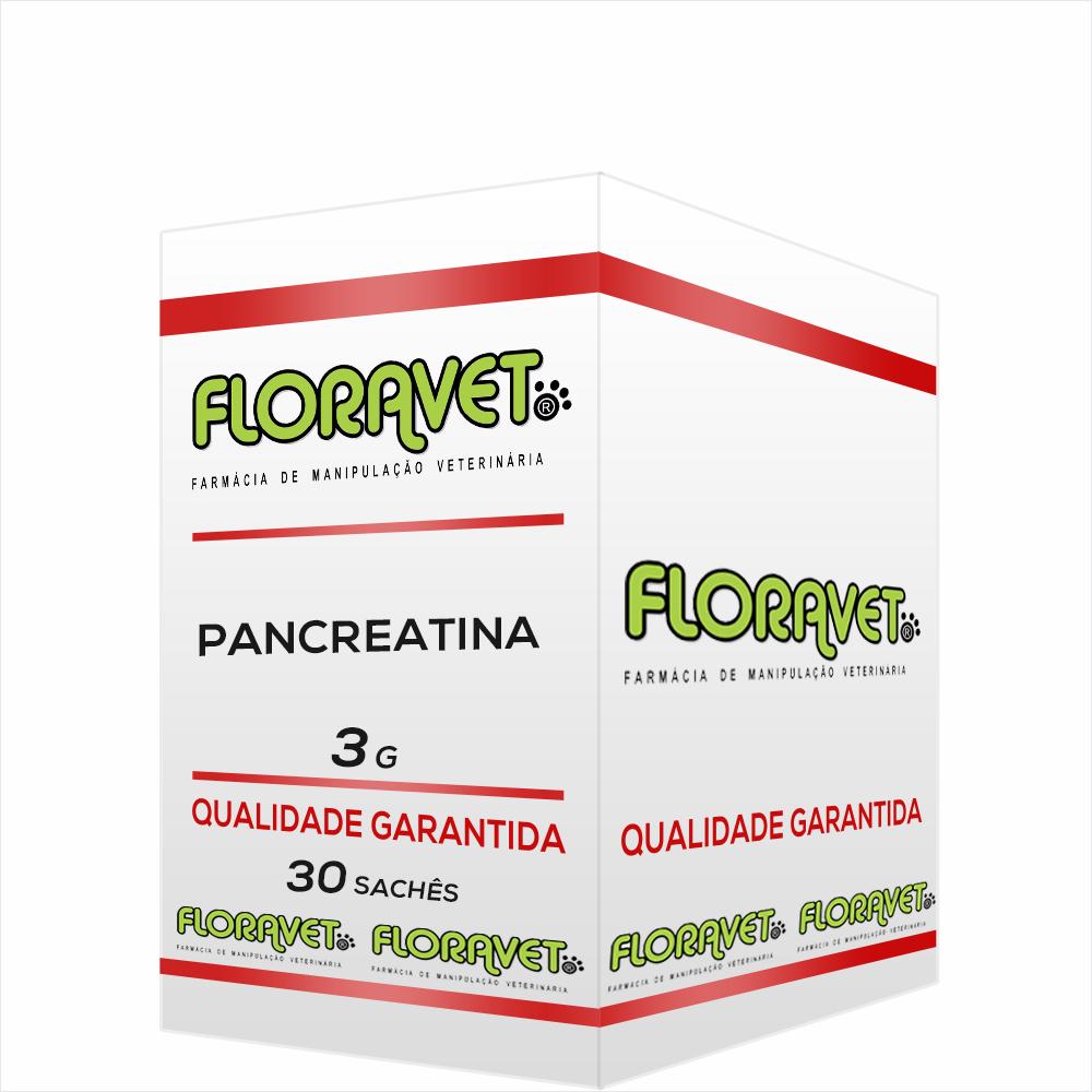 Pancreatina Sachê 3g 30 Unidades - Uso Veterinário