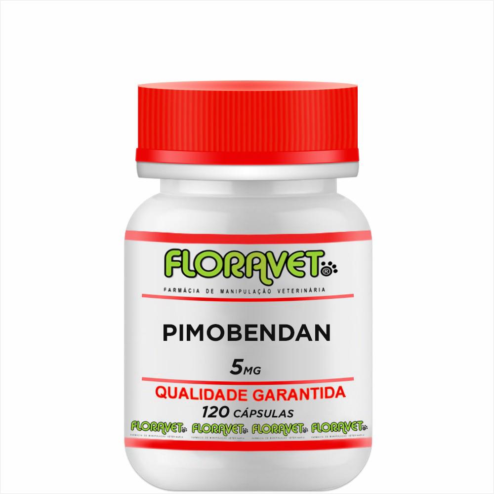 Pimobendan 5 mg Pote 120 Cápsulas - Uso Veterinário