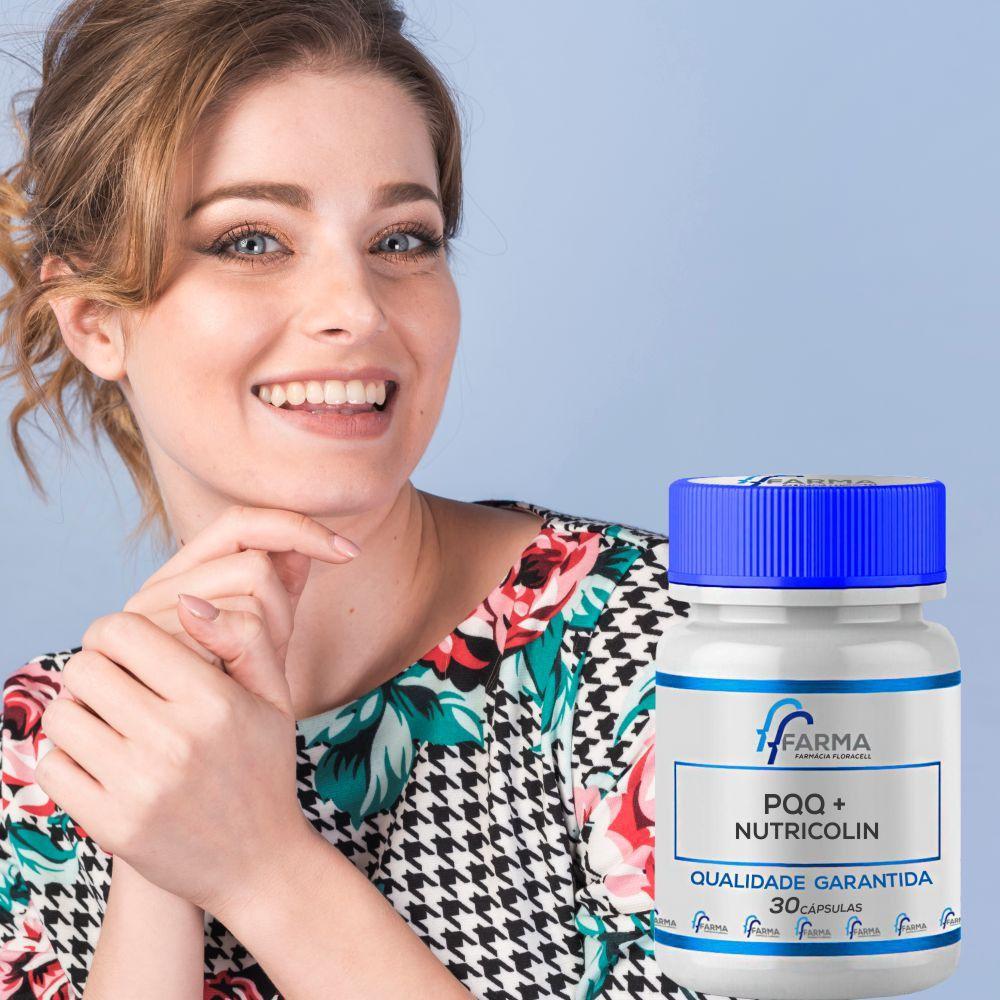 Nutricolin 300 mg + Pqq 10mg - 30 Cápsulas