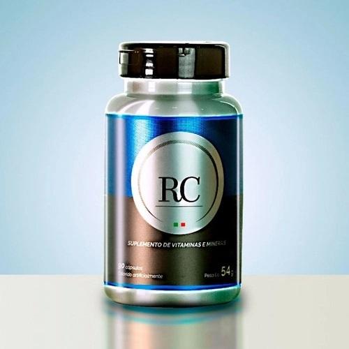 RC Suplemento de Vitaminas que Auxiliam na Queda Capilar 90 Cápsulas