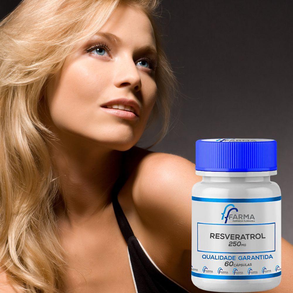 Resveratrol 250Mg 60Cápsulas