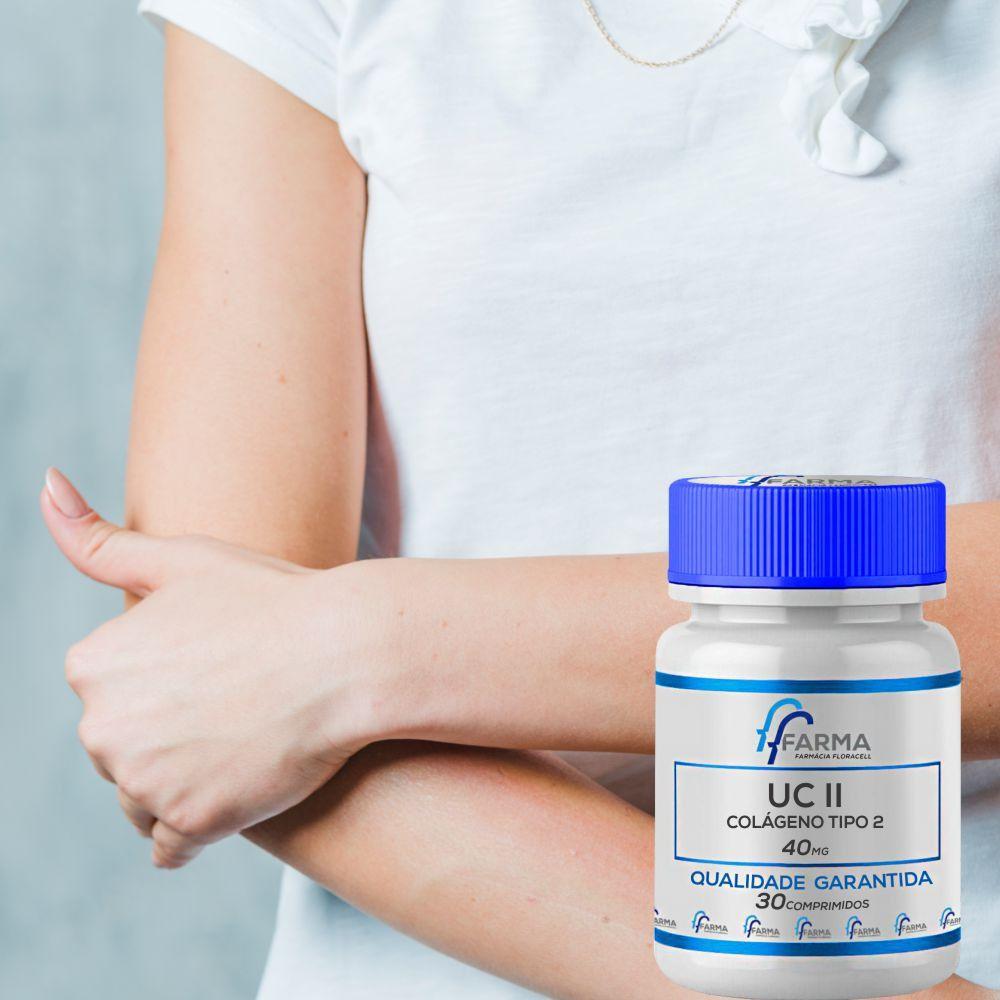 Uc II (Colágeno Tipo 2) 40Mg 30 Comprimidos