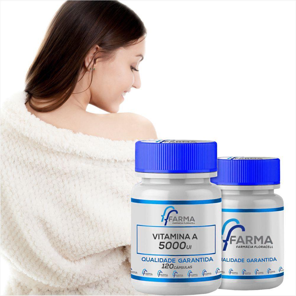Vitamina A 5000ui 120 Cápsulas
