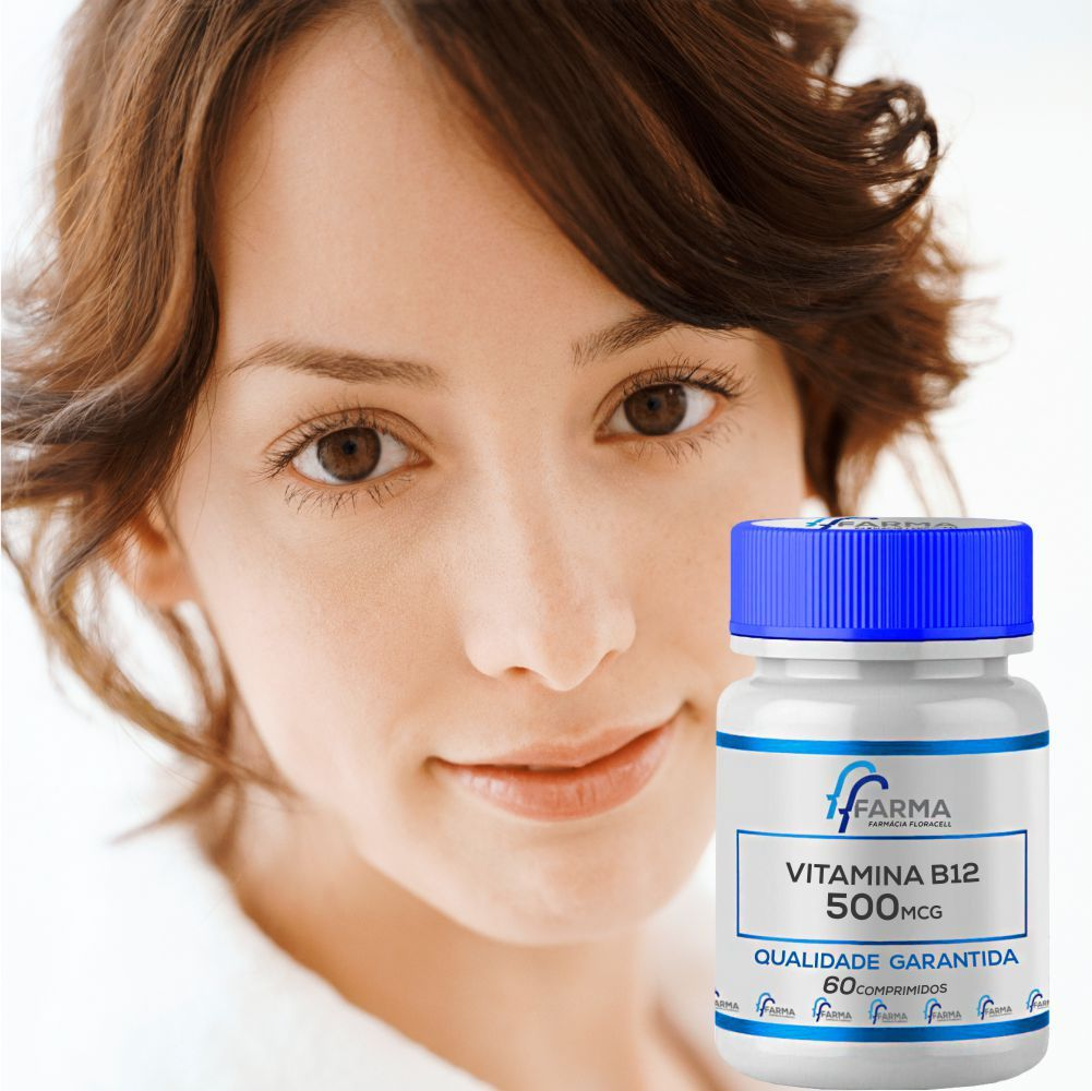 Vitamina B12 500Mcg 60 Comprimidos