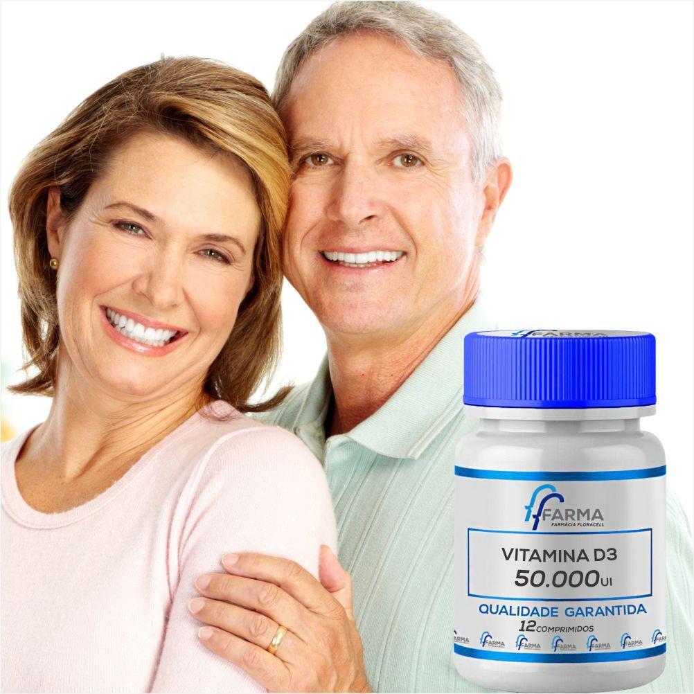 Vitamina D3 50.000Ui 12 Comprimidos