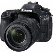 Câmera Canon 80D – Kit 18-135mm STM