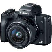 CÂMERA CANON EOS M50 15-45MM F/3.5-6.3 IS STM