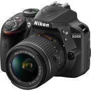 Câmera Nikon D3400 – Kit 18-55mm
