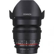 LENTE ROKINON EF 16MM T2.2 CINE (CANON)
