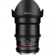 LENTE ROKINON EF 35MM T1.5 CINE - CANON